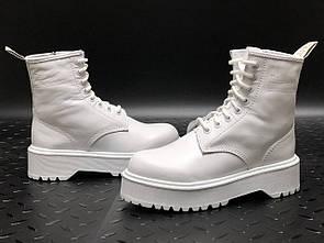 Женские ботинки Dr. Martens JADON White