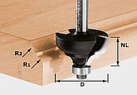 Фреза многопрофильная HW S8 D36,7/R6/R6 HW S8 R12,7 с опорным подшипником хвостовик 8 мм Festool 491031