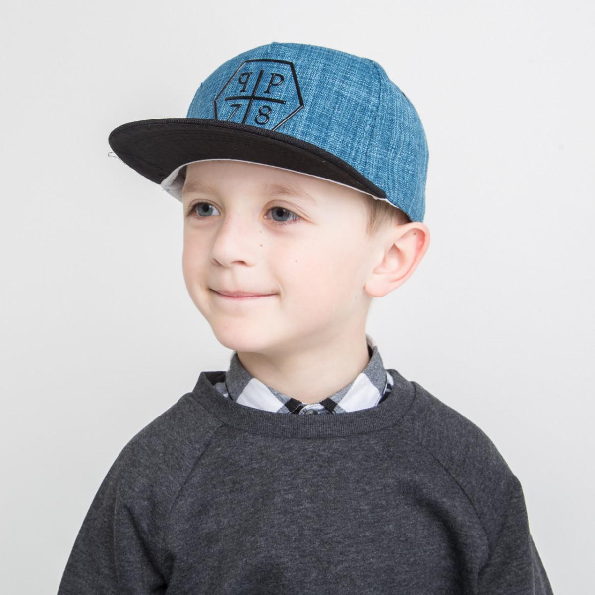 Стильная кепка Snapback для мальчика оптом - 82018-43