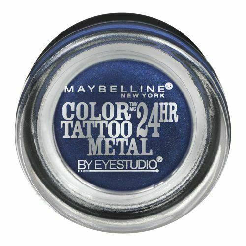 Тени для век Maybelline New York Color Tattoo Molten 24HR Blue Electric 75, 4 g