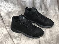 Кожаные мужские ботинки E 5 чер размеры 40,41,42,43,45, фото 1