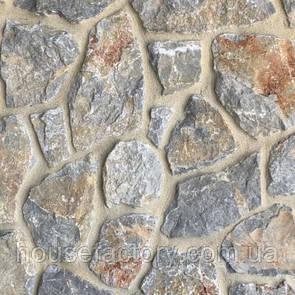 Кварцит Akrolithos Rock Face Grey