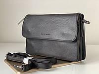 Жіночий повсякденний сумка клатч темно-коричневий шоколадного кольору через плече Pretty Woman, фото 1