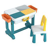 Детский многофункциональный столик TEGA ТРАНСФОРМЕР 6 в 1 разноцветный