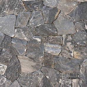 Кварцит Akrolithos Rock Face Evenos Black