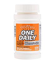 Вітаміни для жінок 50+ (Multivitamin Multimineral), 21st Century, 100 таблеток
