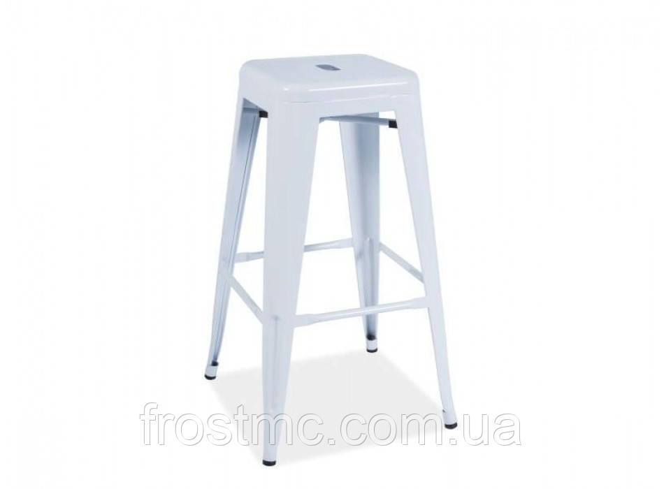 Барный стул Long white