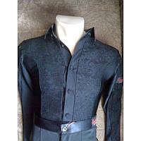 Рубашка для бальных танцев черная