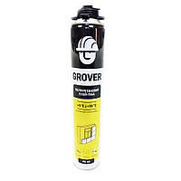 Клей-пена полиуретановая всесезонная для монтажа теплоизоляции GROVER FX 45 Бел, 718 мл / Польша
