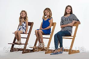 Деревянный растущий стул Zet MrWoodyson