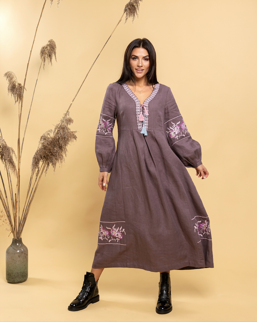 Женские платье вышиванка Барвы