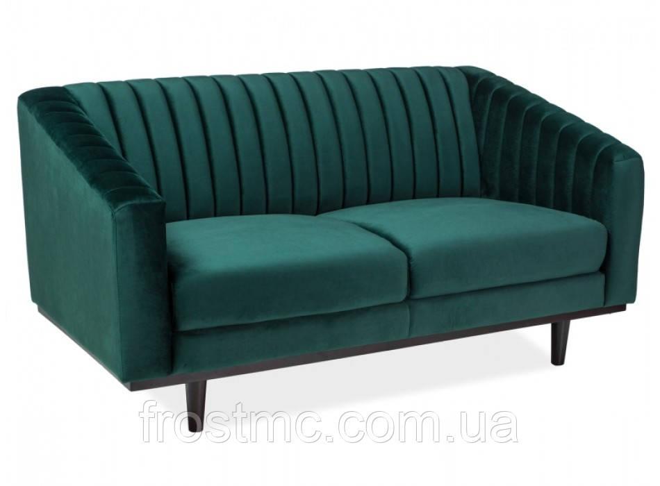 Диван для відпочинку Asprey velvet 2 dark green