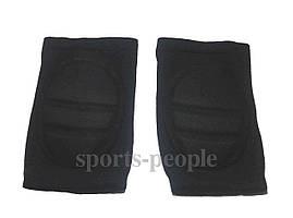 Налокотники с армотизац. подушкой, 19*12.5 см, черные, 2 ед.