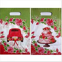 Зеленый Свадебный пакет на каравай