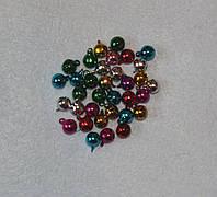 Дзвіночки різнокольорові 743 упаковка 5 шт, фото 1