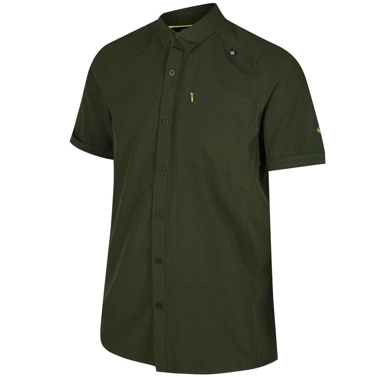 Рубашка Regatta Kioga Темно-Зеленый (RMS096_3B0_XL)