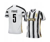 Футбольная форма Ювентус PJANIC (FC Juventus) 2020-2021 Домашняя Детская, фото 1