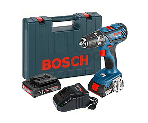 Шуруповерт Bosch GSR 18-2-LI Plus (18V 2A/h Li-Ion) Аккумуляторная дрель-шуруповерт Bosch, фото 2