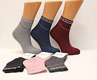 Женские носки махровые PIER LONE с камнями   К-932 камни на резинке
