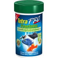 Корм для аквариумных рыб всех видов дополнительная защита Tetra TETRAPRO Vegetable 100 мл