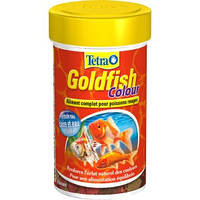 Корм для золотых рыбок усиливающий окрас, хлопья Tetra GOLDFISH Colour 100 мл