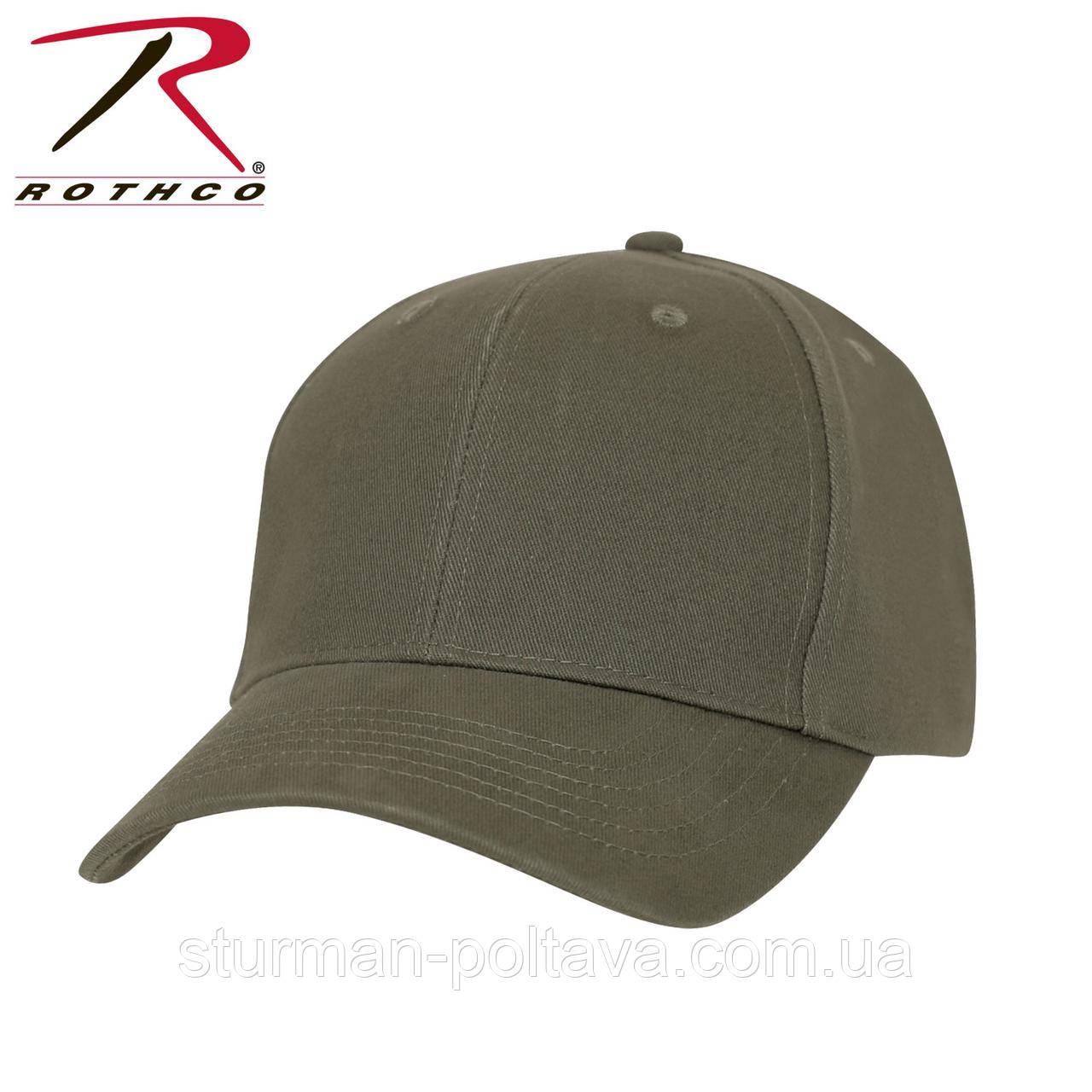 Бейсболка чоловіча олива SOLID OLIVE DRAB LOW PROFILE CAP