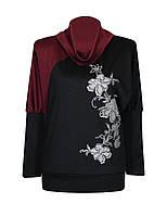 Модная женская кофта Ветка больших размеров для полных