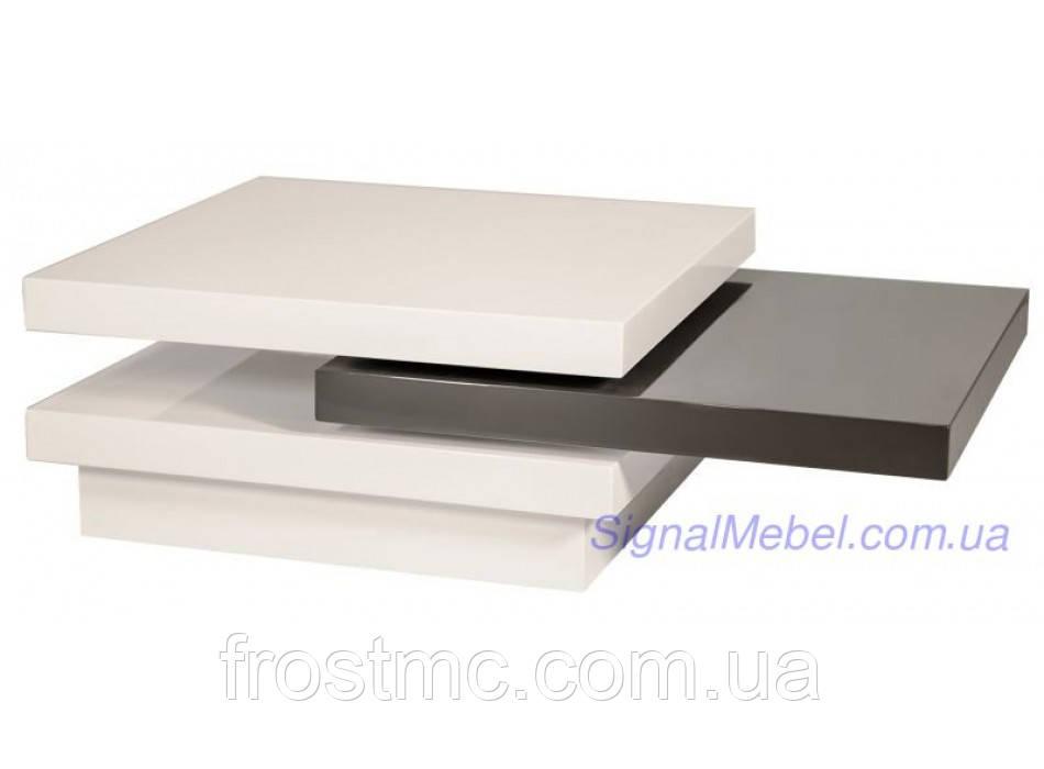 Журнальный столик Trista white gray