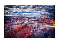 Картина на стекле Canyon