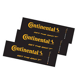 Наклейки для велосипеда Continental, чорні