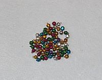 Бубенчики разноцветные 744 упаковка 5 шт, фото 1