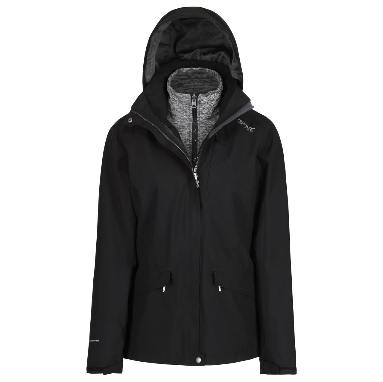 Куртка 3 В 1 Regatta Calyn II Черный (RWP270_808_44)