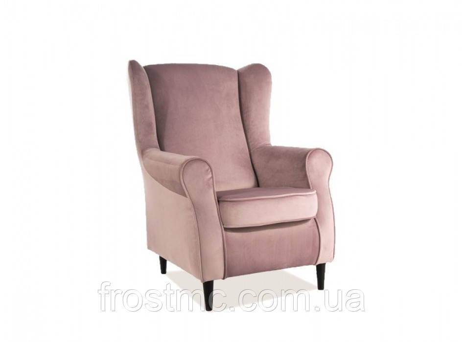 Кресло для отдыха Baron velvet ant roze