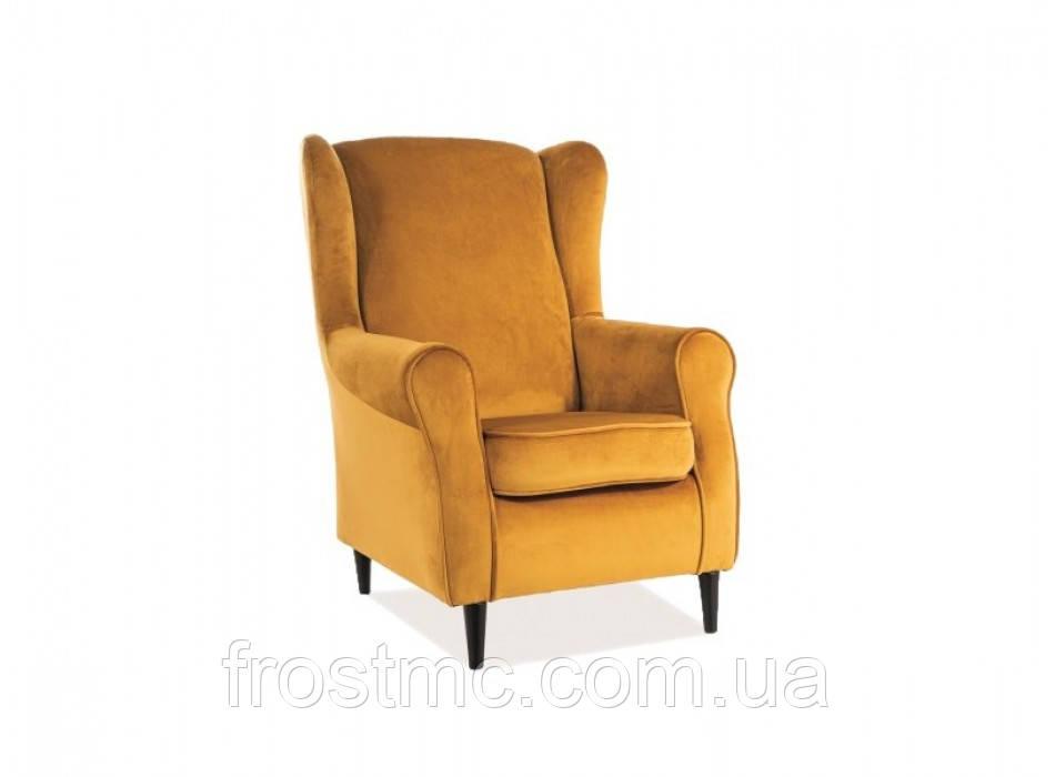 Кресло для отдыха Baron velvet curry