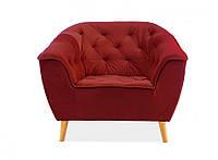 Кресло для отдыха Galaxy 1 velvet bordo