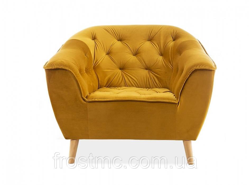 Кресло для отдыха Galaxy 1 velvet curry
