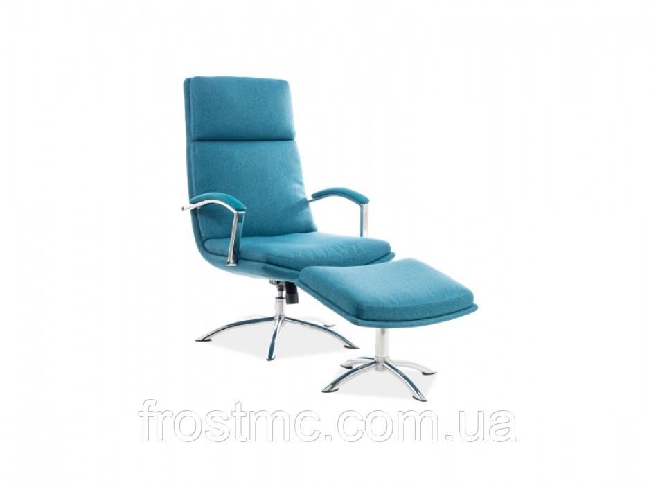 Кресло для отдыха Jefferson biruzovuy
