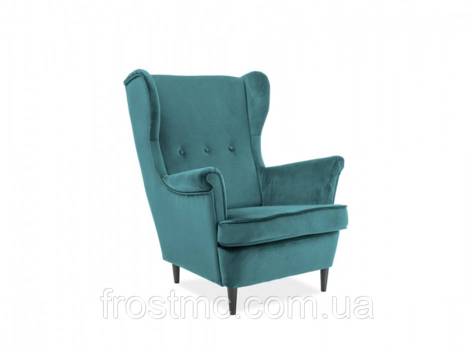 Кресло для отдыха Lord velvet biruzovuy