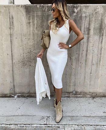Стильное женское платье с коротким рукавом и накидкой ft-3003, фото 2