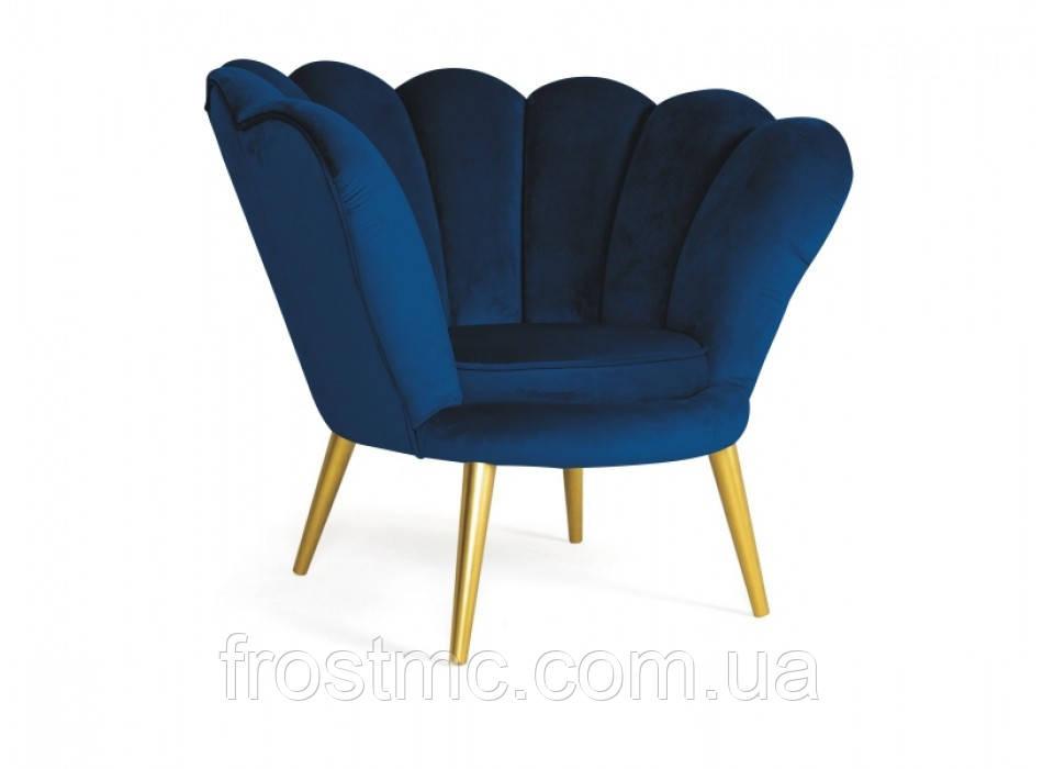 Кресло для отдыха Magnolia velvet gold/granat