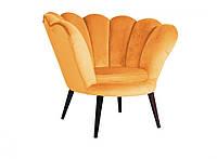 Кресло для отдыха Magnolia velvet venge/curry
