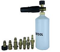 Піногенератор універсальний для усіх типів мийок високого тиску 1л, фото 1