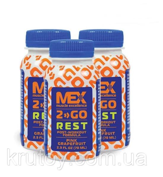 Амінокислоти bcaa MEX Rest Shot 70 ml