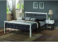 Кровать Venecja 160 white-black