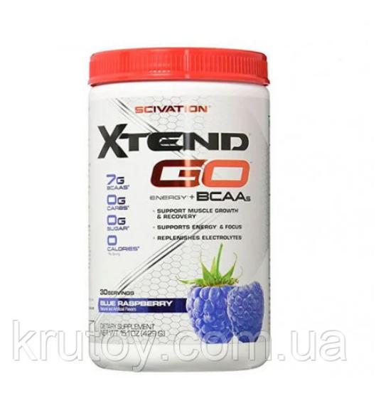 Амінокислоти bcaa Scivation Xtend GO 408 g