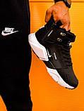 Кроссовки мужские зимние Nike Air Huarache Acronym black/white (Реплика ААА), фото 6