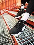 Кроссовки мужские зимние Nike Air Huarache Acronym black/white (Реплика ААА), фото 3