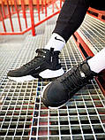 Кроссовки мужские зимние Nike Air Huarache Acronym black/white (Реплика ААА), фото 4