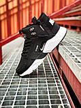 Кроссовки мужские зимние Nike Air Huarache Acronym black/white (Реплика ААА), фото 2
