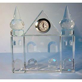 Кришталевий палац з годинником (12,5*12*2)